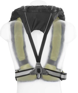 back side of lifejacket