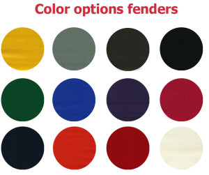 inflatable fender colors