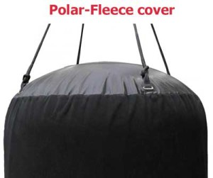 fender inflatable with fleece cover