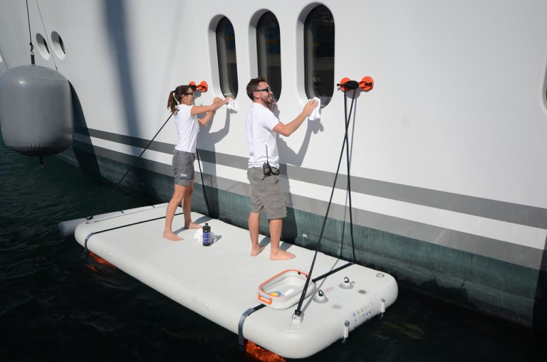 nautibuoy platform cleaning
