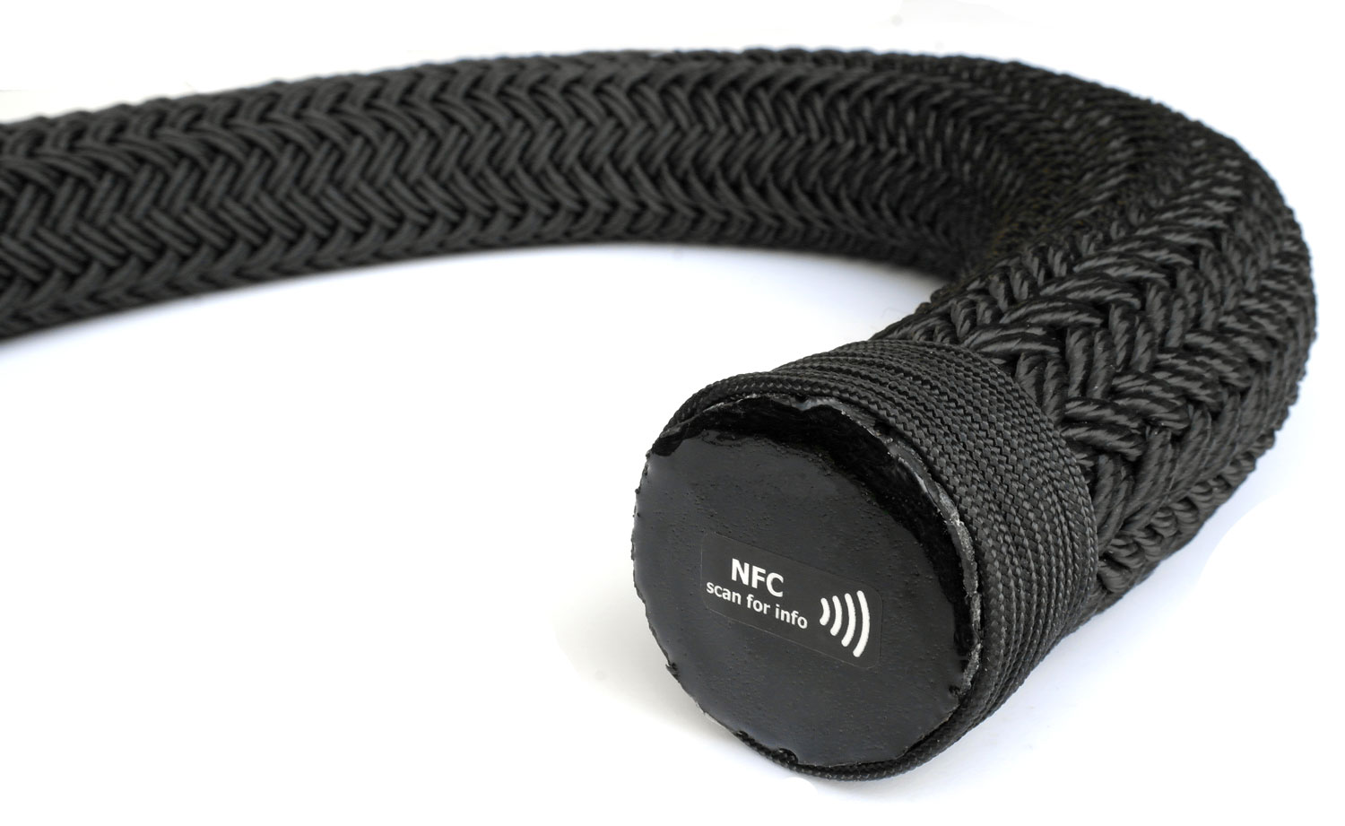 Mooring rope NFC identification