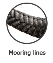 mooring lines superyachts
