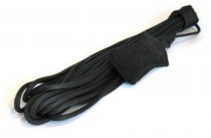 heaving line with leather sandbag